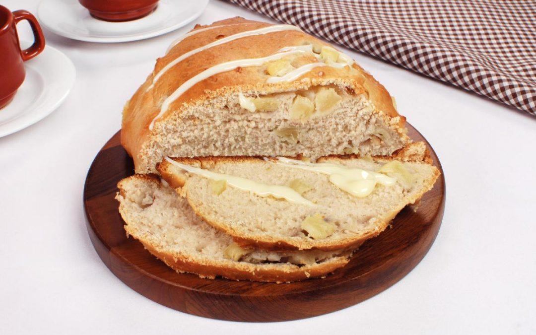 Pão doce de abacaxi