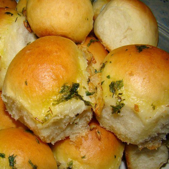 Pãozinho de cebola de liquidificador