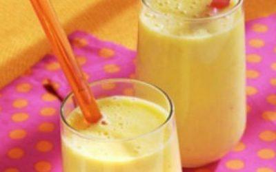 Milk-shake de maracujá