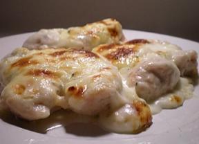 Frango 4 queijos na panela de pressão