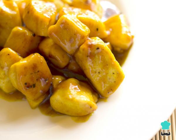 Filé de frango com mostarda