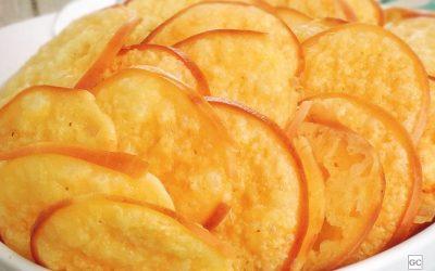 Chips de provolone