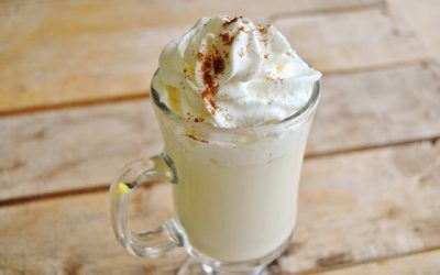 Chocolate branco quente