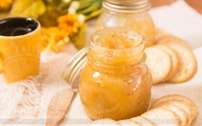 Geleia de abacaxi