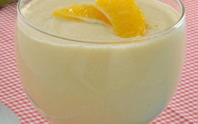 Mousse laranja limão