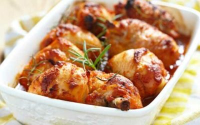 Coxas de frango picantes