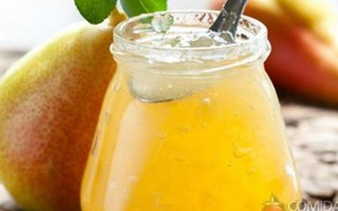 Geleia de pera com limão