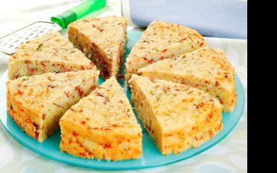 Torta de tapioca seca